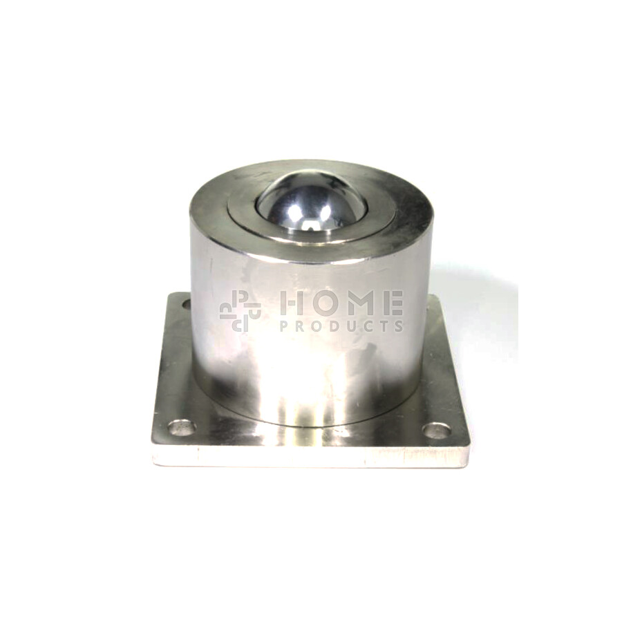 Ball Transfer Unit, 51 mm, with mounting holes and flange, for heavy load