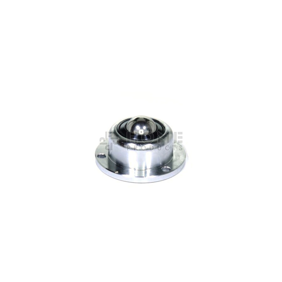 Ball Transfer Unit, 19.05 mm, with mounting holes, flange and spring, for heavy load