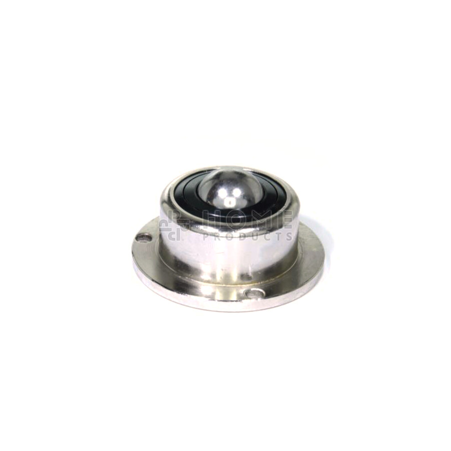Ball Transfer Unit, 25.4 mm, with mounting holes, flange and spring