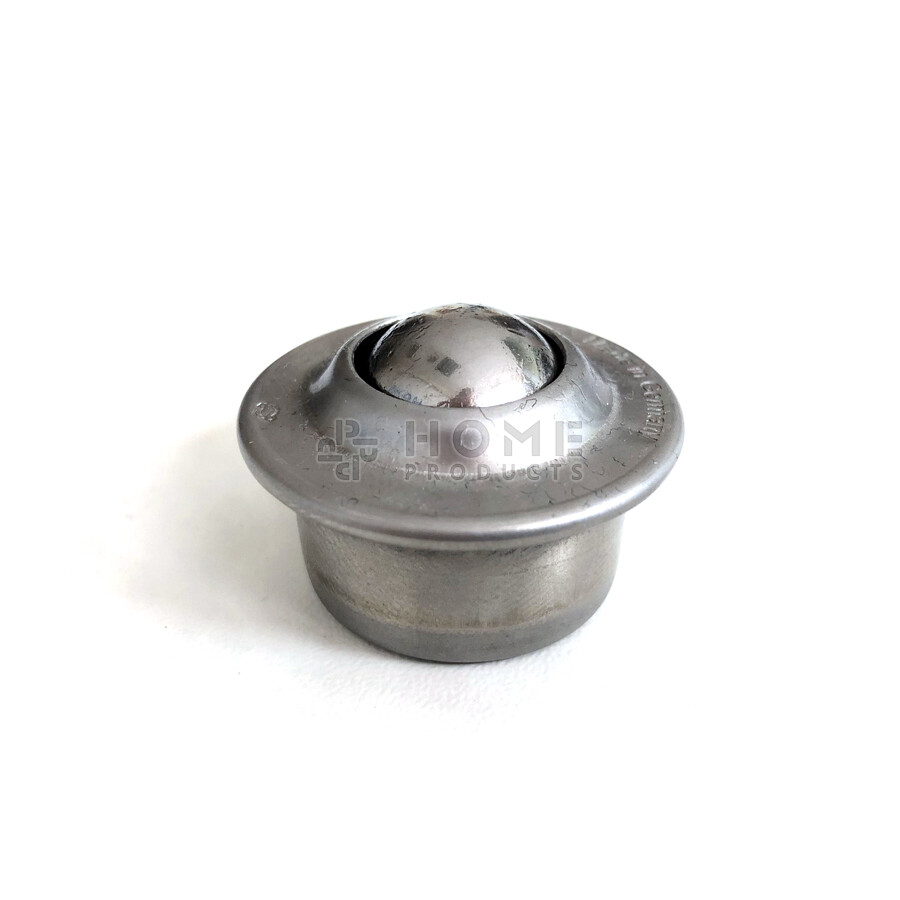 Ball transfer unit (ball transfer unit), 15,875 mm, with flange, all stainless steel
