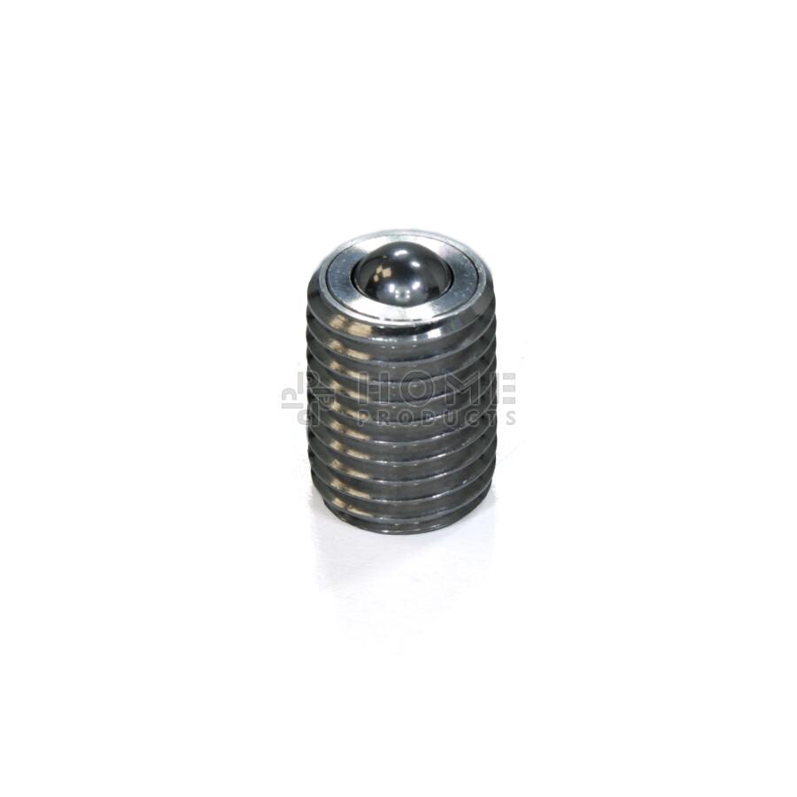Ball roller, full thread, stainless steel, M20